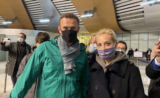 Навальный задержан в Шереметьево по запросу ФСИН
