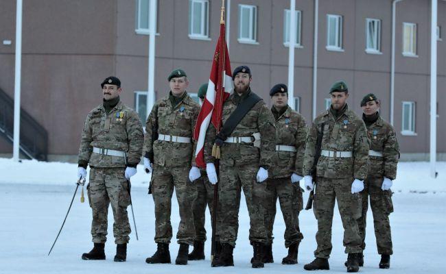 Датских солдат в Эстонии заменили англичане