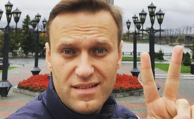Вмоче Навального при госпитализации был обнаружен алкоголь