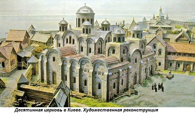 Этот день в истории: 996 год — в Киеве освящен первый на Руси каменный храм  — История — EADaily