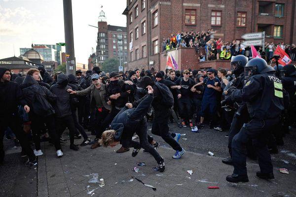 Картинки по запросу беспорядки в гамбурге
