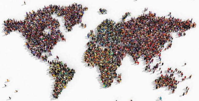1 января население Земли составит 7 млрд 444 млн 443 тыс. 880 человек