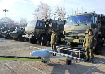 На российской базе в Армении прошла военно-патриотическая акция