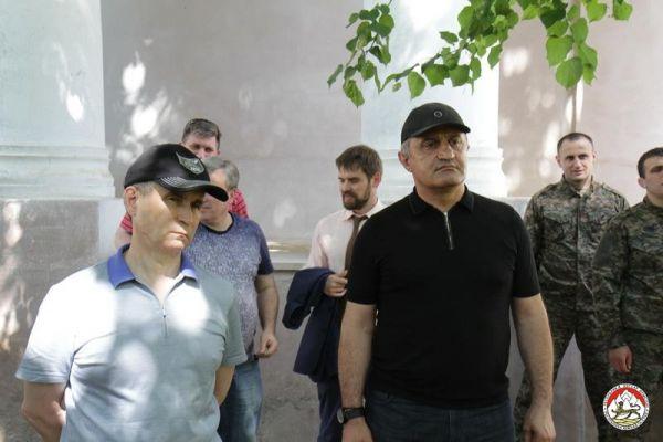 Нургалиев приедет вЮжную Осетию, когда откроют границу