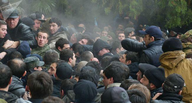 """Картинки по запросу """"фото Протесты в Абхазии"""""""""""