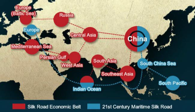 Компании КНР инвестируют за рубеж $ 600−800 млрд за пять лет