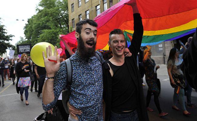 Скандал в украине гей
