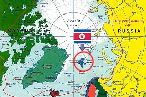 КНДР решила осваивать Арктику и присоединилась к Шпицбергенскому трактату