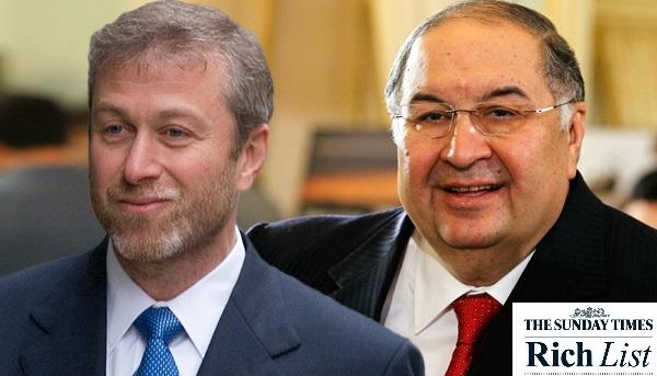 Рейтинг богатейших британцев: Алишер Усманов — пятый