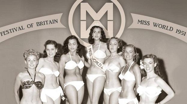 Картинки по запросу 1951 - В Лондоне состоялся первый конкурс красоты «Мисс Мира».