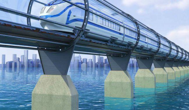 Китайцы задумали строительство вакуумной железной дороги