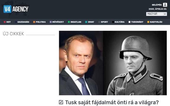 Сравнившему Орбана с нацистским юристом Туску напомнили, где служил его дед