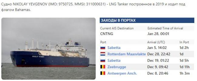 Танкеры с российским СПГ пробились через Севморпуть в мерзнущую Азию
