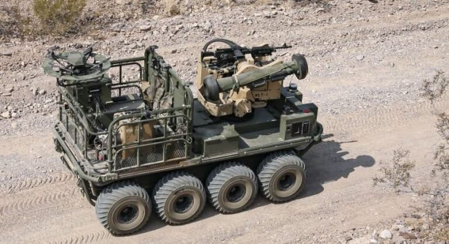 ВСША прошли испытания роботов для уничтожения российских танков